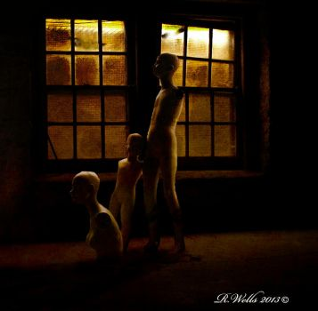 Mannequins Im The Basement by Ray4359