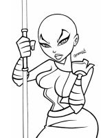 ASAJJ VENTRESS by ASSESINA