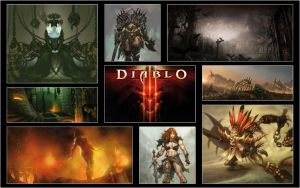 Diablo 3 Artwork by mchenry