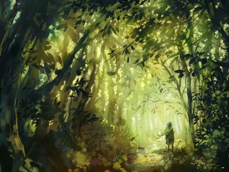 The Forest Stray by nuriko-kun