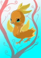 Baby Torchic by GalaxyStarzDesign