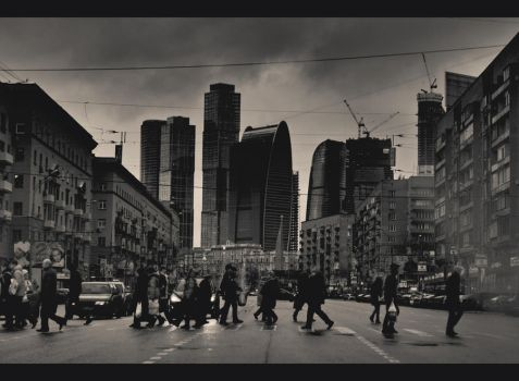 Moscow by onkin