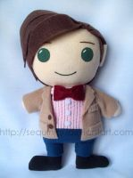 11th Doctor by sequinjar