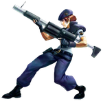 Jill ValentineMarvel vs Capcom 2 PNG 3 by Isobel-Theroux