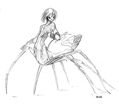 Spider boy thing by Edheloth
