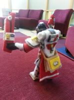 Sister of Battle Plushie Back view by Funk-Golem