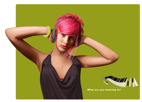 What are you listening to? by pure-andrea