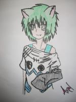 New Oc .:Uke:.- Axel by SoulEaterGirl
