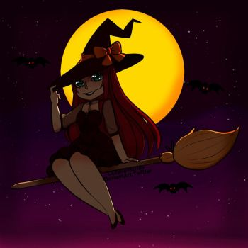 Witch by LadySpiderlily