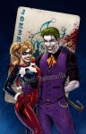 Joker and Harley by VinRoc
