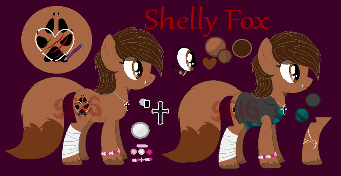 Shelly Fox new ref by SuperRosey16
