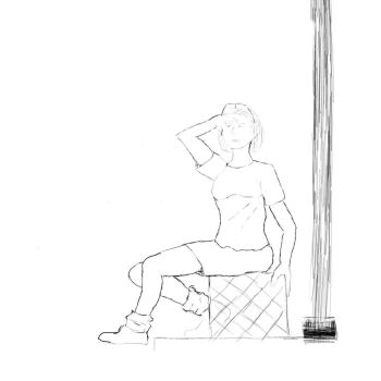 Sitting Woman - Final by hedwards
