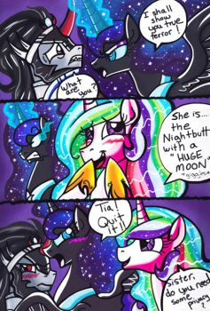 I Am The............Nightbutt With A HUGE MOON!!! by Aurora-Chiaro