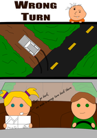 Wrong Turn by Toems