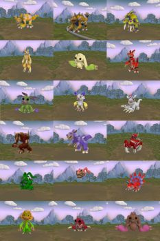 spore digimon by TheBrave