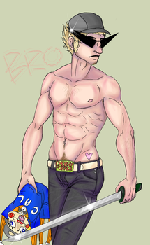 :Homestuck: Unoriginal Bro by Pancake-fairy