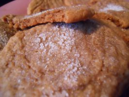 recipe: ginger cookies by starsinmyteacup