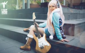 Super Sonico by Lilla Bee Cosplay by igotsuperpowers