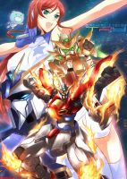 Gundam Build Fighter Try by haganef