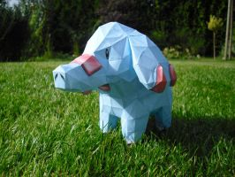 Phanpy papercraft by TimBauer92