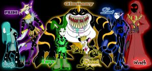 The 7 Deadly Sins by Moheart7