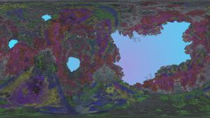 Tantalizing Fractals 13 -- Rainbow Canyon by SEwing0109