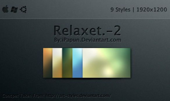 Relaxet. Wallpapers-2 by ipapun