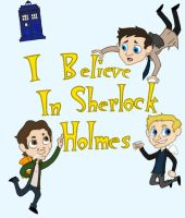 Angels Believe in Sherlock by xiam47