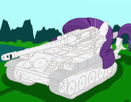 Rarity - AMX-13 F3 by AlVchFokarev