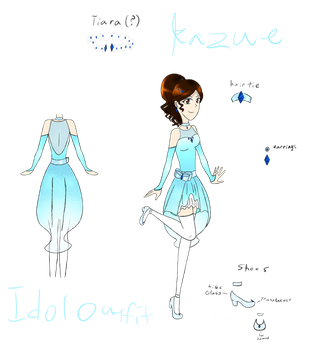 [SIA Assignment] Kazue's Idol Outfit (version 2.0) by SparkleChord