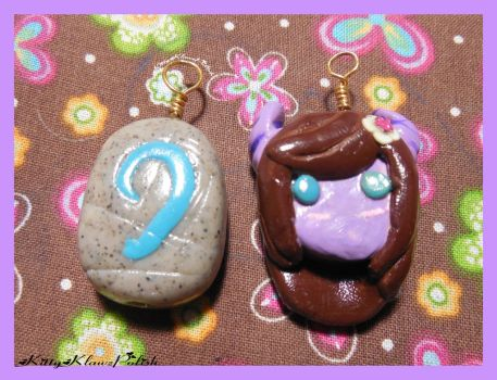 Clay Charms: Happy B-Day CheshireCatSmile37 by KittyKlawzPolish