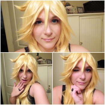 Panty Wig, Makeup, and Contacts by katmac57