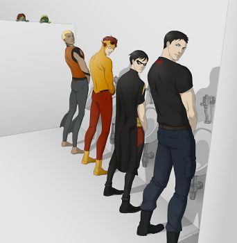 Young Justice by doubleleaf