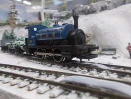 Caledonian 0-4-0 in colour by FFDP-Neko
