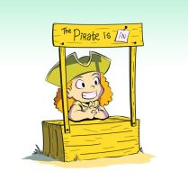 Pirate by Lafinman