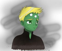 human brainiac 5 by OrangeBlueCream