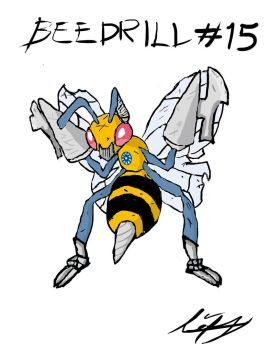 # 15 Beedrill by Luis Vazquez by PBRLADQRO