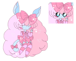 1 point Tearbell adopt (Closed) by SugarKittyPastel