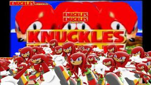 Knuckles the Knuckles and Knuckles + Knuckles by Jupiterjumper2
