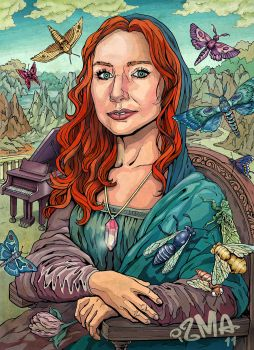 The smile of Tori Amos by ismaComics