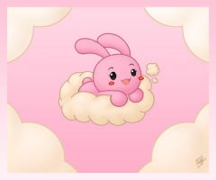 Bunny in the Clouds by Jdan-S