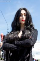 Morticia Addams - London MCM Expo @ExCel May 2013 by Paper-Cube