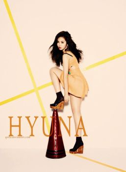 HyunA edited.. by qeefa