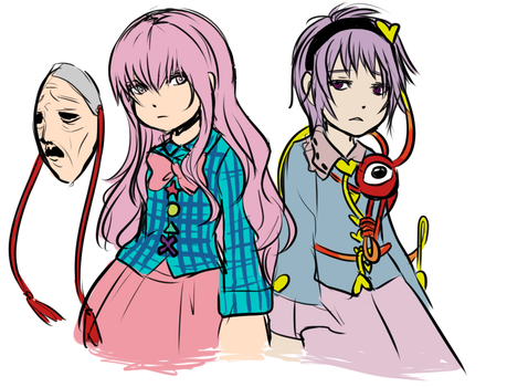 they all look alike by Amaranth-Pink