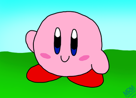 Kirby by MrMarioLeArtist