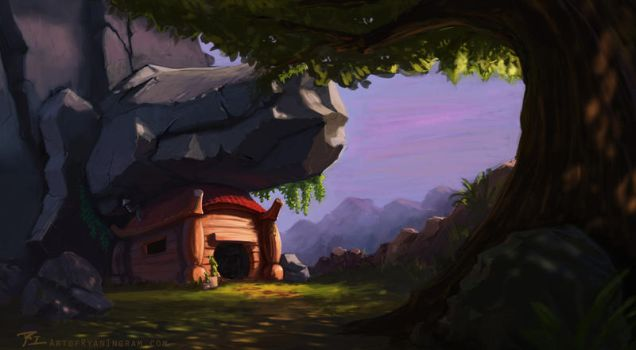 Sylized Environment Design by timegate