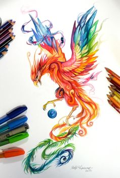 280- Regal Phoenix by Lucky978