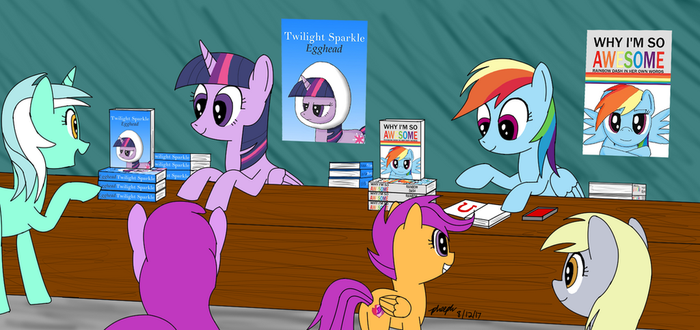 Book Signing by pheeph