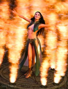 Firewitch by jepegraphics