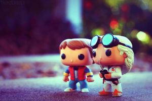 Back To The Future Pop! Vinyls [1] by AmyThunderbolt